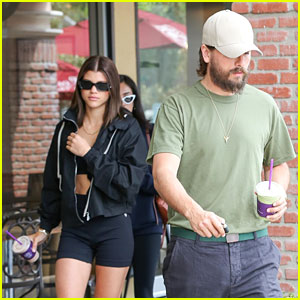 Scott Disick & Sofia Richie Couple Up for Coffee Bean Run
