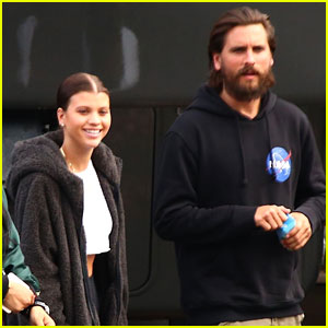Scott Disick & Sofia Richie Support Her Dad at 'Idol' Taping