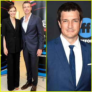 Scott Foley, Lauren Cohan, & Nathan Fillion Present New Shows at ABC Upfronts 2018!