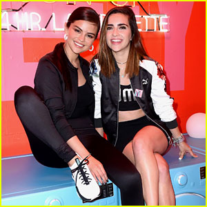 Selena Gomez Visits Puma Defy City to Launch New Sneaker Collection
