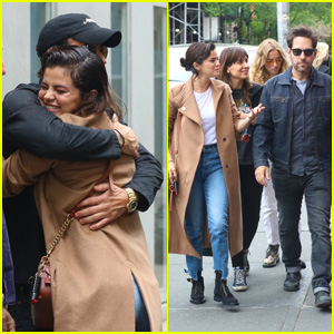Selena Gomez, Justin Theroux & Paul Rudd See 'Harry Clarke' & Grab Lunch Together in NYC!