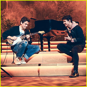 Shawn Mendes & John Mayer Premiere 'Where Were You in the Morning?' at Apple Music Show