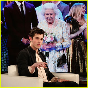 Shawn Mendes Dishes on His Awkward Moments With British Royals! (Video)