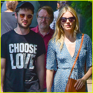 Exes Sienna Miller & Tom Sturridge Hang Out in NYC