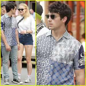 Sophie Turner Rocks Short-Shorts in NYC with Joe Jonas!