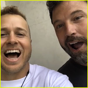 Spencer Pratt Meets Ben Affleck & Is Totally Star Struck (Video)