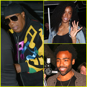 Stevie Wonder Celebrates Birthday with Famous Friends in WeHo!