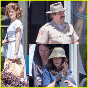 'Stranger Things' Season 3 Set Photos Bring Together Natalia Dyer, Winona Ryder, & David Harbour!