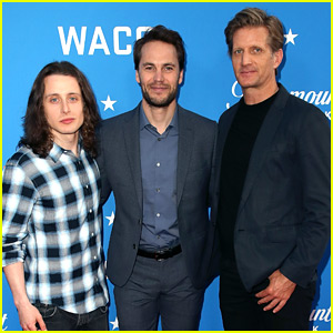 Taylor Kitsch Reunites with 'Waco' Co-stars at FYC Event
