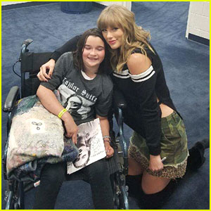 Taylor Swift Meets Fan Backstage Who Fell Ill During Concert