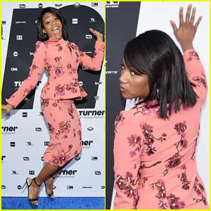 Tiffany Haddish Had the Best Poses on the Red Carpet at the Turner Upfronts 2018