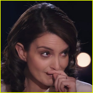 Tina Fey Cries During Interview With David Letterman - Watch Now!