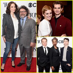 Tina Fey, Andrew Garfield & More React To Their Tony Awards 2018 Nominations!