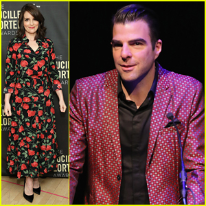 Tina Fey,  Zachary Quinto & More Help Honor Off-Broadway at Lucille Lortel Awards 2018!