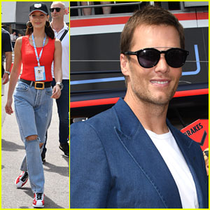 Tom Brady, Bella Hadid & More Attend Formula One Grand Prix