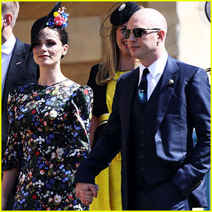 Tom Hardy Shows Off His Bald Head at Royal Wedding