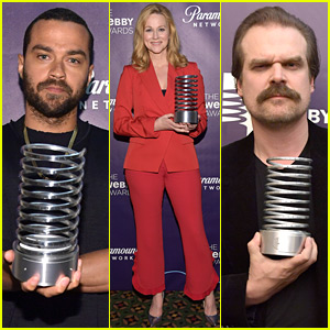 Jesse Williams, Laura Linney, & David Harbour Honored at Webby Awards!