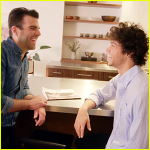 Zachary Quinto & Miles McMillan Give a Tour of Their NYC Home