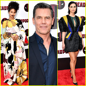 Zazie Beetz, Josh Brolin, & Morena Baccarin Attend 'Deadpool 2' NYC Premiere!
