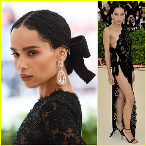 Zoe Kravitz Looks Seductive & Chic at Met Gala 2018!