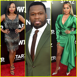 50 Cent, La La Anthony & Naturi Naughton Celebrate 'Power' Season 5 Premiere - Watch Trailer!
