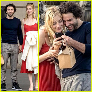 Poldark's Aidan Turner is Dating UnREAL's Caitlin FitzGerald!