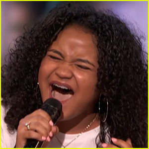 15-Year-Old Girl Sings 'Natural Woman' on 'AGT' & Gets the Golden Buzzer! (Video)
