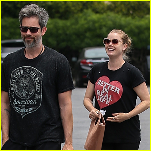 Amy Adams is All Smiles While Out with Hubby Darren Le Gallo!