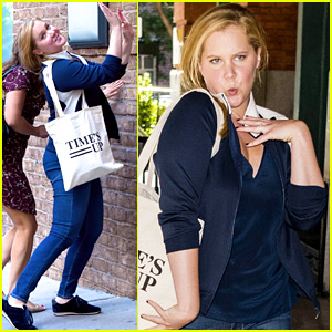 Amy Schumer's Reaction to Seeing the Paparazzi Is The Best!
