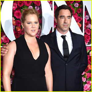 Amy Schumer & Husband Chris Fischer Hit the Red Carpet at Tony Awards 2018