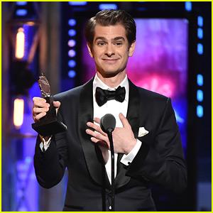Andrew Garfield Dedicates His Tony Award to LGBTQ Community