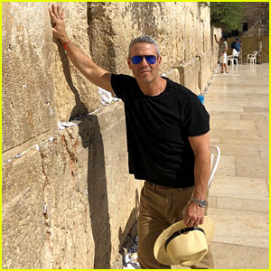 Andy Cohen Celebrates LGBTQ Rights at Tel Aviv Pride Parade