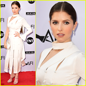 Anna Kendrick Goes Glam for Former Co-Star George Clooney's AFI Tribute!