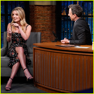 Annabelle Wallis Was Glad Jeremy Renner Broke His Arms While Filming 'Tag'