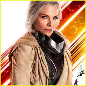 Michelle Pfeiffer in 'Ant-Man & the Wasp' - First Look Photo!