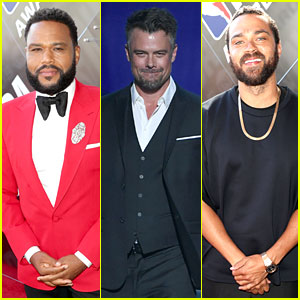 Anthony Anderson, Josh Duhamel, & Jesse Williams Team Up for NBA Awards 2018
