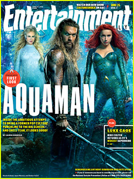 Nicole Kidman as Queen Atlanna in 'Aquaman' - First Look Photo!