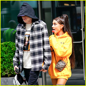 Ariana Grande Only Has Eyes for Pete Davidson While Out in NYC