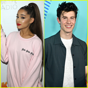 Ariana Grande & Shawn Mendes Get Ready to Hit the Stage at Wango Tango 2018!