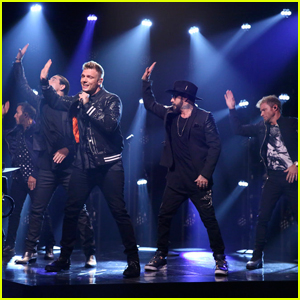 Backstreet Boys Perform 'Don't Go Breaking My Heart' Live on 'Fallon' - Watch Here!