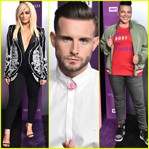 Bebe Rexha, Nico Tortorella, & Sara Ramirez Step Out for VH1 Trailblazer Honors 2018