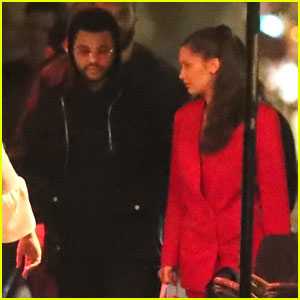 Bella Hadid & The Weeknd Couple Up For Date Night in Paris