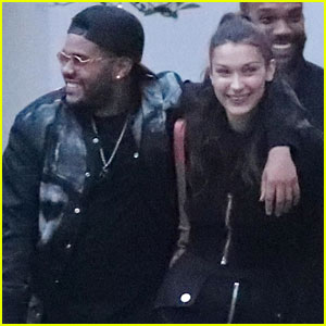 Bella Hadid & The Weeknd Look So Happy On a Date in Paris!