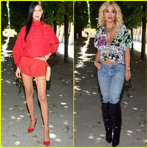 Bella Hadid & Rita Ora Stun at Louis Vuitton Fashion Show in Paris!