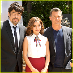 Benicio Del Toro, Isabela Moner, & Josh Brolin Step Out for 'Sicario: Day of the Soldado' Photo Call!