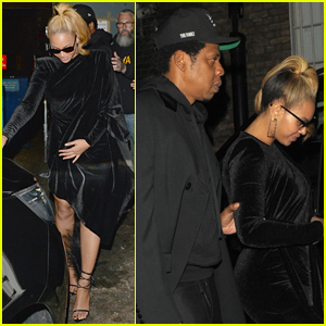 Beyonce & Jay-Z Step Out for Date Night in London!