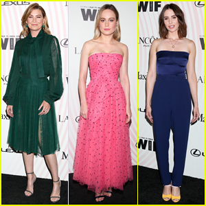 Brie Larson Advocates for Diverse Critics at Women In Film Crystal + Lucy Awards 2018!
