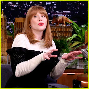 Bryce Dallas Howard Turns Her Animal Noises Into Dinosaur Roars with Jimmy Fallon!