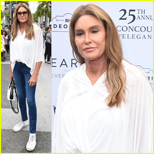 Caitlyn Jenner Celebrates Father's Day at Concours d'Elegance Car Show!