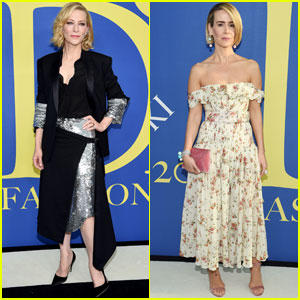 Cate Blanchett & Sarah Paulson Get Chic at CFDA Fashion Awards 2018!
